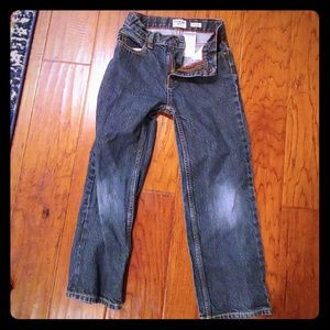 Oshkosh classic slim jeans for boys.